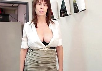 Busty Milf Wants This Young CockHD