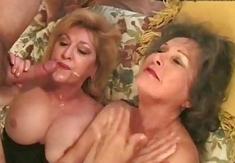 My g-ma gets fucked by my friend - 6 min