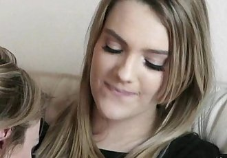 Enchanted Lesbian Kiss Kenna James, Angela Sommers
