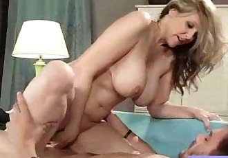 Intercorse In Front Of Cam With Naughty Big Tits Housewife video-16