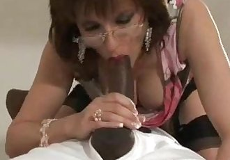 Mature babes interracial facial
