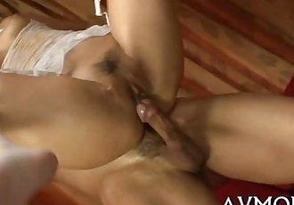 Milf pokes fur pie with dildo - 5 min
