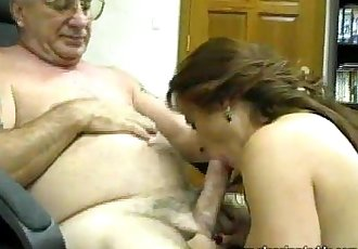 Slut Auditions For Old Pervert - 3 min