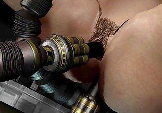 3D Animation: Sex Robots - 2 min