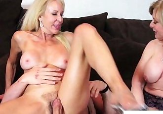 Erica Lauren and Nina Hartley ffm funHD