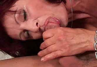 Squirting grandma needs to get off on his dick - 6 min HD