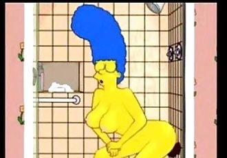 Marge buys a black dildo - 56 sec
