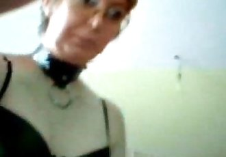 Hacking web cam of my mum I discover she is a pervert one - 2 min