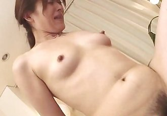 Mature milf gets pussy slammed in threeway with studs - 6 min