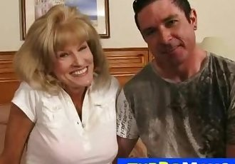 American granny Cam fucked hard in a hotel room