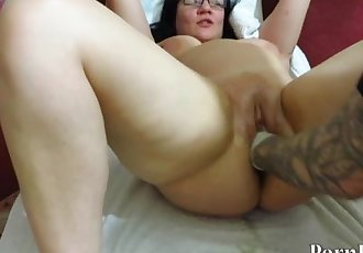 man, tough mature milf fucks hand. Fisting